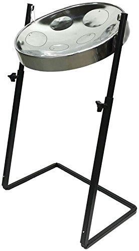 Panyard Jumbie Jam W1162 Steel Drum Z-Stand Chrome G Diatonic