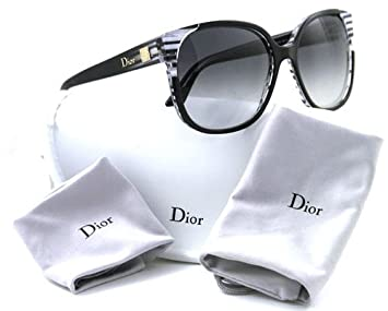 1b3798ec356 Image Unavailable. Image not available for. Colour  Dior Line Black Grey  Stripe I5A Dior Sunglasses