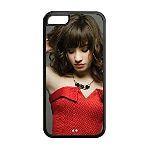MEIMEICustomzie Your Own Singer Demi Lovato Back Case for iphone 6 plus 5.5 inch JNiphone 6 plus 5.5 inch-1517MEIMEI