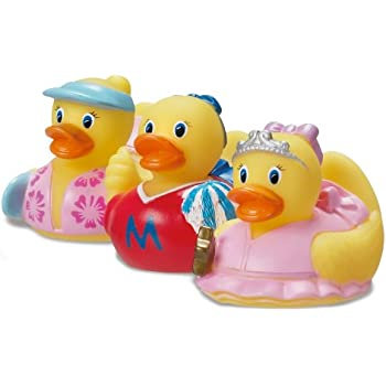 Munchkin White Hot Super Safety Bath Ducky, Fireman And Football, 2 Count  Outlet