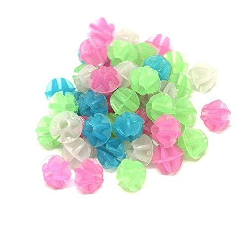 Bicycle Spoke Beads – Glow in The Dark – Easy Install – 72 Count