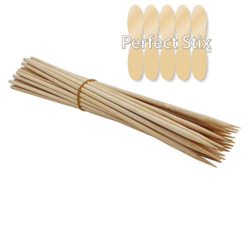 Perfect Stix Wooden Kabob Stick Skewers 12