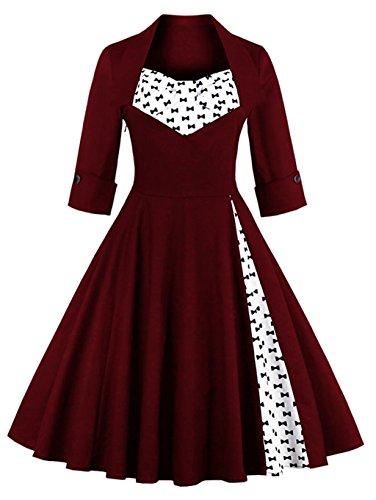 Buy bridesmaid dresses vintage look - 5