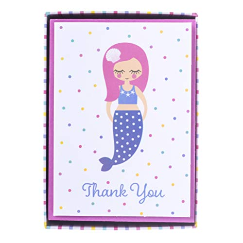 Graphique Mermaid Boxed Notecards - 16 Blank