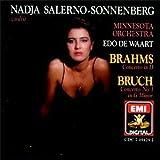 Brahms: Violin Concerto / Bruch: Violin Concerto 1 by Nadja Salerno-Sonnenberg (2001-07-31)