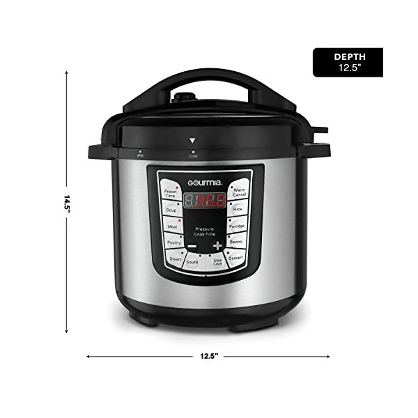 Gourmia GPC625 6 Qt Multi-Mode SmartPot Pressure Cooker | 13 Cook Modes | Removable Nonstick Pot | 24-Hour Delay Timer… 7