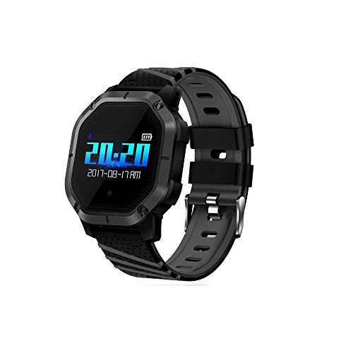 Opta-Sb-062 Onyx Bluetooth Heart Rate + All-in-One Activity Tracker + Sleep Monitor Compatible with Android/iOS Smart Phones for Men Women Teens