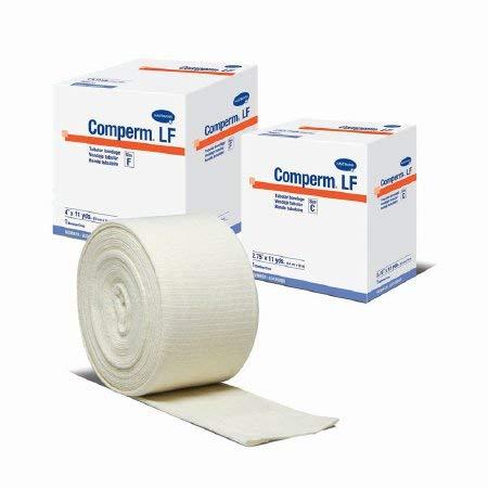 Free Latex Bandage Tubular - Hartmann 83060000 Comperm Tubular Bandage, Size F, 33' Length, 4