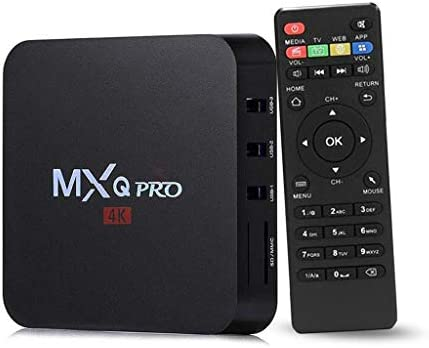 MXQ PRO Android 7 1 KODI 17 3 Amlogic S905W 1GB/8GB 4K TV BOX