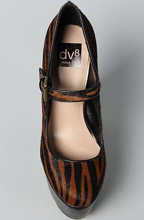 Dv8 Door Dolce Vita Dalice Vrouwen Platform Wig Leopard Pump Tiger