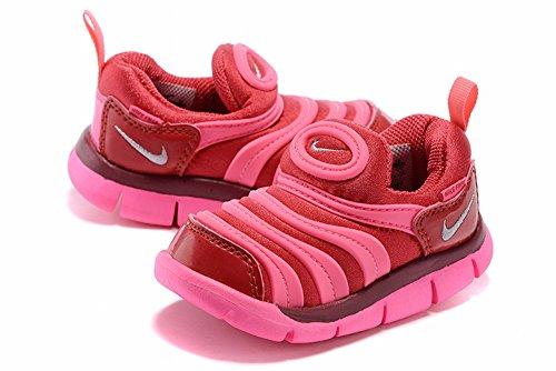 Little Children 343938–608scarpe dinamo free TD scarpe da bambino Kids sneakers, Ragazzi, Pink Red, UK5.5=EUR22=13CM