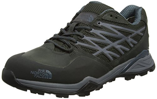 The North Face Men Hedgehog Gore-Tex Low Rise Hiking Boots Multicolour (Beluga Grey/Dark Slate Blue)