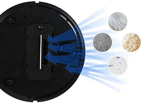 Empty Pulizia Robot Domestico Vuoto Intelligente Cleaner Ricaricabile Mini Pigro spazzamento Robot Grande aspirazione Automatica della Macchina di Pulizia (Color : White) Black
