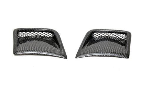 (JPCarbon Carbon Fiber Front Bumper Side Scoops for Subaru Impreza WRX STI 2008-2014)