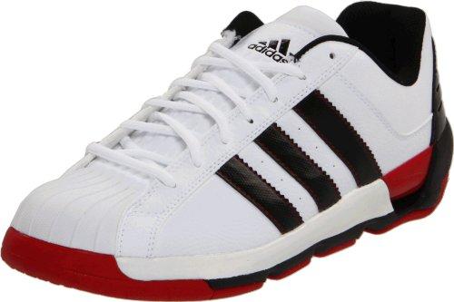 Adidas Heren Meester G Schoen Running Wit / Zwart / Universiteit Rood