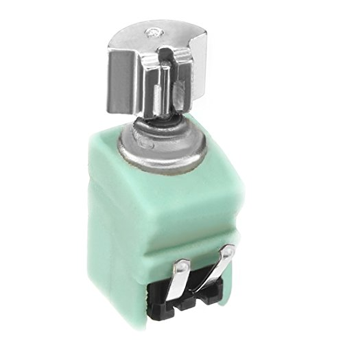 uxcell DC 3.7V 10000RPM 120mA 4mm x 8mm Green Micro Vibration Motor for Cell Phone
