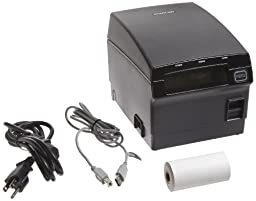 Bixolon SRP-F310 Waterproof Monochrome Desktop Direct Thermal Receipt Printer With Parallel, USB, Ethernet Interface, 10.63 in/s Print Speed, 180 dpi Print Resolution, 2.83\