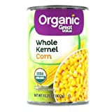 Pack of 2 - Great Value Organic Whole Kernel Corn, 15.25 oz