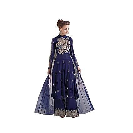 Bollywood Vestido Anarkali Shalwar Kameez Traje Boda Sexy ...