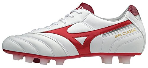 Mizuno MRL White Club da High Basse Risk 001 Uomo MD Scarpe Ginnastica Multicolore Red CACnxrqB