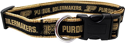 COLLEGE PURDUE UNIVERSITY Dog Collar, Medium