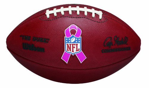 Wilson ''The Duke'' NFL Football - Breast Cancer Awareness by Wilson