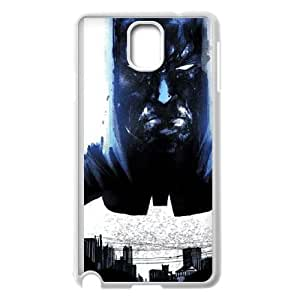 The Dark Knight City Stare Samsung Galaxy Note 3 Cell Phone Case White Protect your phone BVS_539528