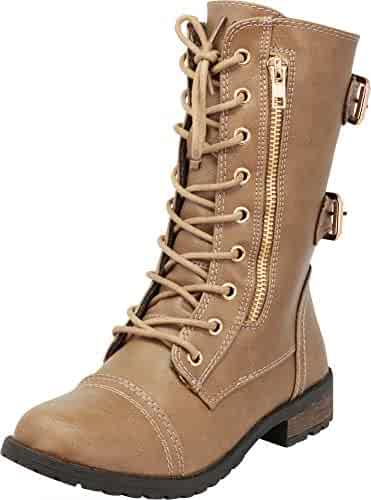 086e5c704cb Shopping Beige - Lace-up - Boots - Shoes - Girls - Clothing, Shoes ...