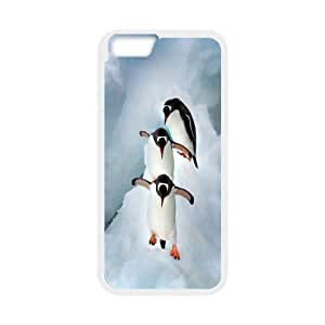 High quality penguin Hard Shell Cell Phone Case Cover for For iphone 6 Case 4.7 Inch FKGZ436626