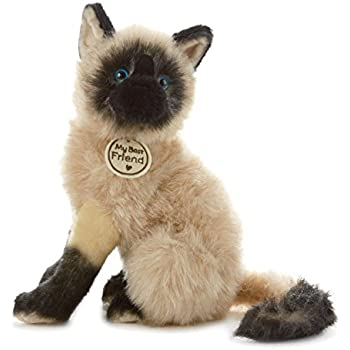 Hallmark My Best Friend Large Siamese Cat Plush Stuffed Animal