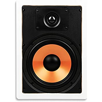 Micca M-8S 8 Inch 2-Way in-Wall Speaker with Pivoting 1