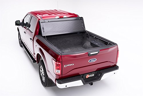BAK Industries 72310 F1 BakFlip Tonneau Cover for Ford Super Duty Standard/Extended/Crew Cab 80
