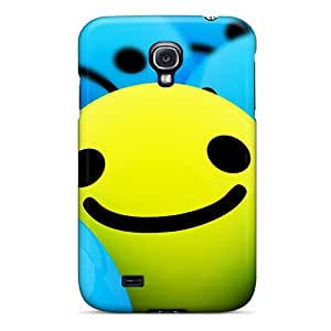 Pretty Ayi15294CmGb Galaxy S4 Cases Covers/ 3d Smilies Series High Quality Cases Black Friday