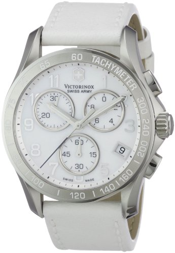 - Victorinox Swiss Army Women's 241418 Classic White Mother-of-Pearl Dial Watch