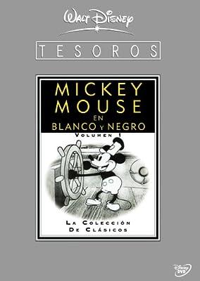 Tesoros Disney: Mickey Mouse En Blanco Y Negro - Volumen 1 DVD ...