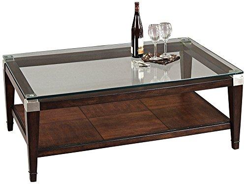 Amazoncom Bassett Mirror Dunhill Rectangle Cocktail Table Kitchen - Silverado rectangular coffee table