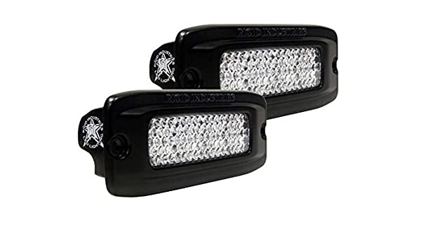 set of 2 212213 212213 RIGID PRO D-Series LED lights Spot PAIR