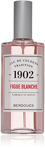 Berdoues Eau de Cologne Spray, White Fig, 4.2 Fl Oz ()