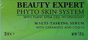 Beauty Expert Phyto Skin System with Plant Stem Cell Technology Multi-Tasking Serum with Ceramides and COQ10