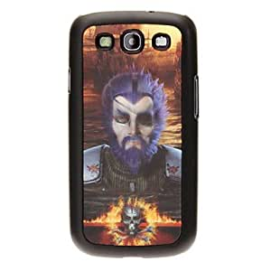 YULIN Pirate Skull 3D Changing Pattern Protective Plastic Hard Back Case Cover for Samsung Galaxy S3 I9300