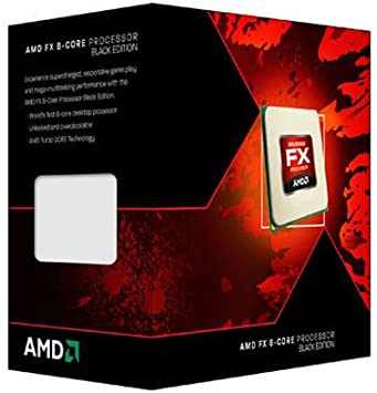 Processor Fx-8120 Black Edition 3.1Ghz 8-Core 8Mb L2 L3 Cache Socket Am3