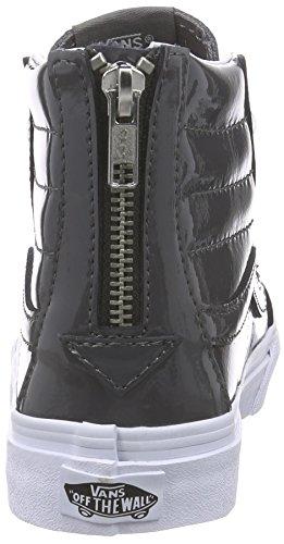 Zip asciuga Grigio Sneakers Furgoni Brevetto Sk8 top Stagno Hi Sottile 0xEaqR