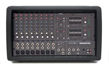 Mackie 808M 8-Ch. Mono Powered Mixer w/Effects