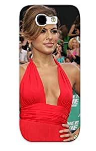 Fashion PC Case For Galaxy Note 2- Eva Mendes (185) Defender Case Cover