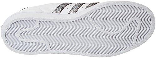 Blanco Ftwbla para Negbas Adidas 000 Zapatillas Superstar Mujer Supcol wqax7I6