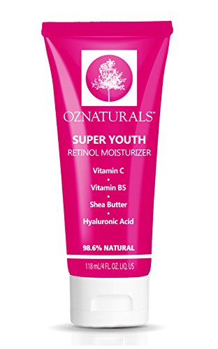 OZNaturals Pure Retinol Cream – Anti Wrinkle Anti Aging Retinol Night Cream Face Moisturizer With Retinol + Hyaluronic Acid.  Experience The Most Effective Natural Skin Care. 4 fl.oz by OZ Naturals