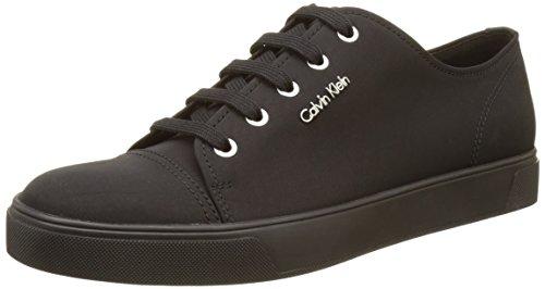 Calvin Klein Napoleon Nylon, Zapatillas para Hombre Negro (Blk)