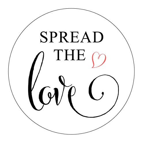 Spread the Love Stickers, Jam Favor, Jelly Favor, Blush Heart, Favor Labels, Favor Stickers, Spread the Love Labels, Jam Wedding Favor, Jam Shower Favor, Stickers - Love Jelly