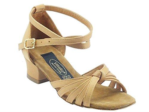 tacco Vitiello fille Shoes 2cm Dance Tanganica tanganica raso l de Dance salon Sandalo a 00rqUT7
