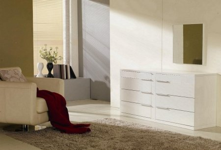 VIG Furniture VGWCSB-D01-ARON-WHT Modrest Aron Modern White by VIG Furniture